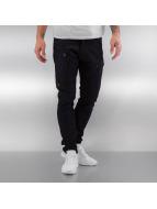 G-Star Slim Fit Jeans Powel Super Slim Visor zwart