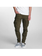 G-Star Spodnie Chino/Cargo Rovic Zip 3D Tapered zielony