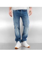 G-Star Straight Fit Jeans 3301 Aiden Stretch blau