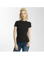 G-Star T-Shirt Silber Slim Trin Rib black