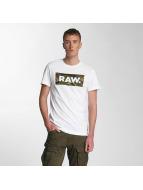 G-Star T-Shirt Dc Art Youn Jersey blanc