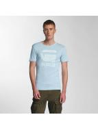 G-Star T-Shirt Drillon Cool Rib blau