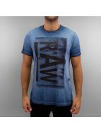 G-Star T-Shirt Etkar Lyon bleu