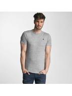 G-Star T-Shirt Unstand Premium Cool Rib grau