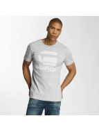G-Star t-shirt Drillon Cool Rib grijs