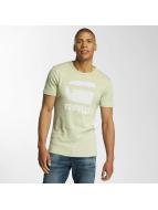 G-Star T-shirt Drillon Cool Rib gul