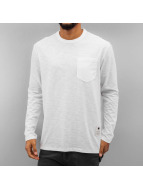 G-Star T-Shirt manches longues Rinep Pocket Jisoe Jersey blanc