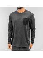 G-Star T-Shirt manches longues Rinep Pocket Jisoe Jersey noir