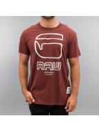 G-Star T-Shirt Ocat rot