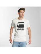 G-Star T-shirt Drillon Cool Rib vit