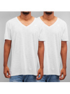 G-Star t-shirt Base Doppelpack wit