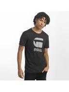 G-Star t-shirt Drillon Cool Rib zwart