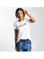 G-Star T-shirtar Rovi Straight Lyon vit