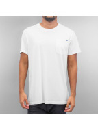 G-Star T-Shirty Ratiz Pocket Compact bialy