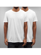 G-Star T-Shirty Base 2er Pack bialy