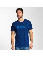 G-Star T-Shirty Draye Compact Jersey niebieski