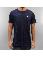 G-Star T-Shirty Hoyn Compact niebieski