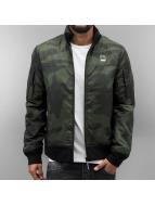 G-Star Välikausitakit Nancor Overshirt camouflage