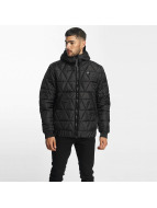 G-Star winterjas Strett Utility Myrow Pes Dye Quilted Hooded zwart
