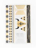 Gleams Cleopatras Dream II Skin Tattoo Sticker Yellow/Grey/Black