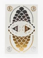 Gleams Cleopatras Dream IV Skin Tattoo Sticker Yellow/Grey