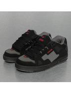 Globe Sabre Skate Shoes Black/Pewter/Red