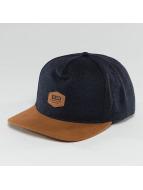Globe Snapback Cap Woodford indigo