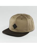 Globe Snapback Caps Gladstone beige