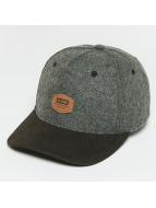 Globe Snapback Caps Woodford harmaa