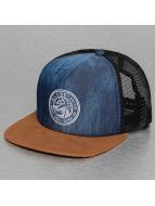 Globe trucker cap Roycroft blauw
