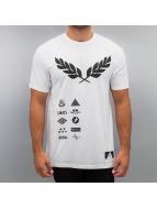 Gods & Generals T-Shirt Rank weiß