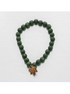 Good Wood NYC armband Mini Leaf groen