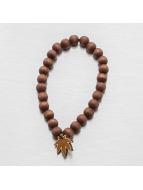 Good Wood NYC Bracelet Mini Leaf brun
