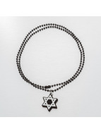 Good Wood NYC ketting NYC Micro Star Of David zwart