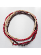 Good Wood NYC Necklace NYC 8mm Wrap red