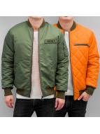 Grimey Wear Куртка-бомбардир Unafraid зеленый