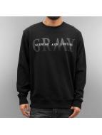 Grimey Wear Пуловер Mist Blues черный