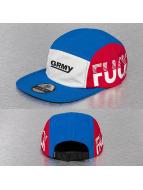 Grimey Wear 5 Panel Caps Fuck Fame blau