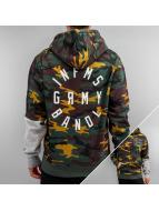 Grimey Wear Bluzy z kapturem Smoky Alley moro