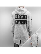 Grimey Wear Hoodie Bowels Of The D Long grå