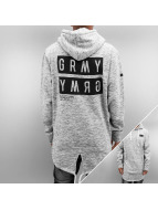 Grimey Wear Hoodie Bowels Of The D Long grey