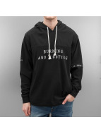 Grimey Wear Hoody Mist Blues schwarz