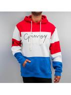 Grimey Wear Hupparit Natural Globetrotter punainen