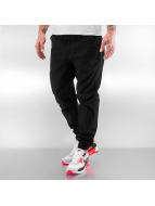 Grimey Wear joggingbroek Twill Peach zwart