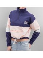 Grimey Wear Lightweight Jacket Walk On By Crop blue