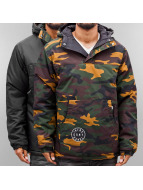 Grimey Wear Lightweight Jacket Smoky Alley Reversible camouflage
