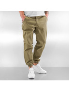 Grimey Wear Pantalone ginnico Twill Peach beige