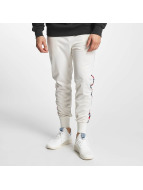 Grimey Wear Pantalone ginnico The Lucy Pearl bianco
