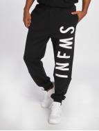 Grimey Wear Pantalone ginnico Infamous Heritage nero