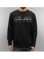 Grimey Wear Pullover Mist Blues schwarz